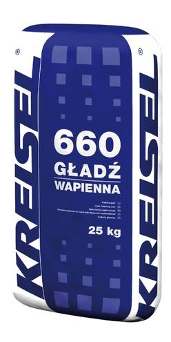 Известковая шпаклевка GLADZ WAPIENNA 660 Kreisel